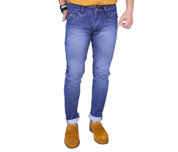 Sbachelor Light blue slim fit jeans