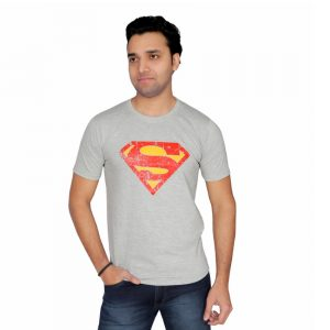 Superman graphic half sleeve t-shirt