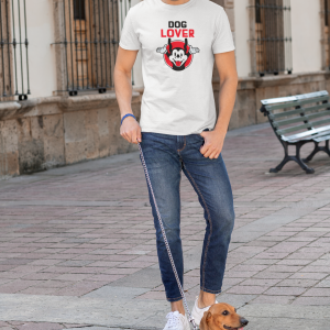 Dog Lover Half sleeve T-shirt